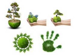 绿色环保地球高清图片