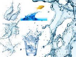 清爽动感水元素高清图片