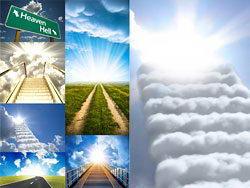 通向天堂的阶梯创意高清图片