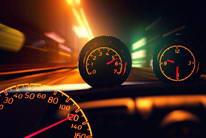 车速速度特写图片素材