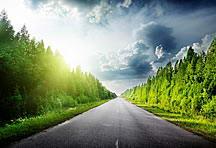 高速公路风景背景图片素材