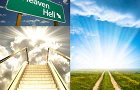 6张通往天堂道路主题高清图片