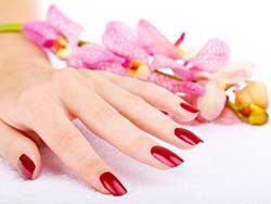 指甲油手部护理高清图片