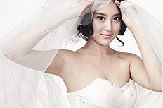 甘露露婚纱写真图片