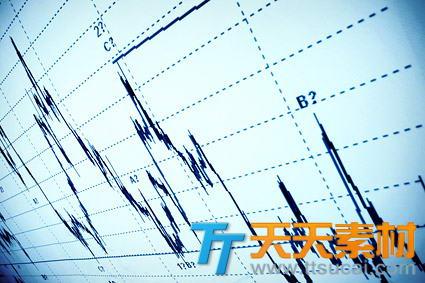 商业股票曲线高清图片素材