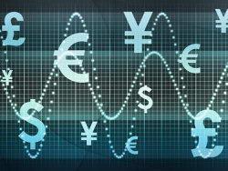 商业货币走势图片素材