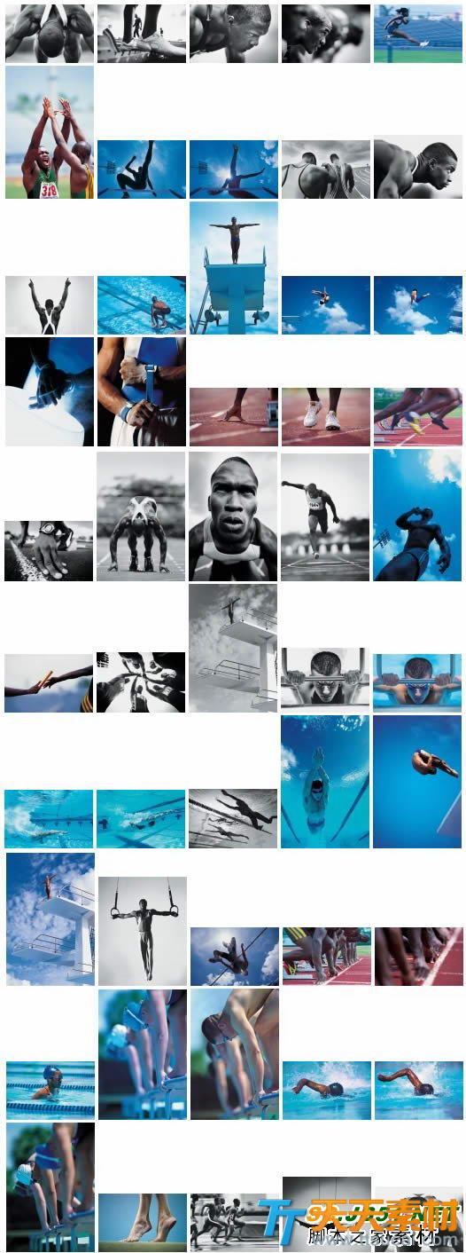 45张运动会田径游泳体育运动图片素材