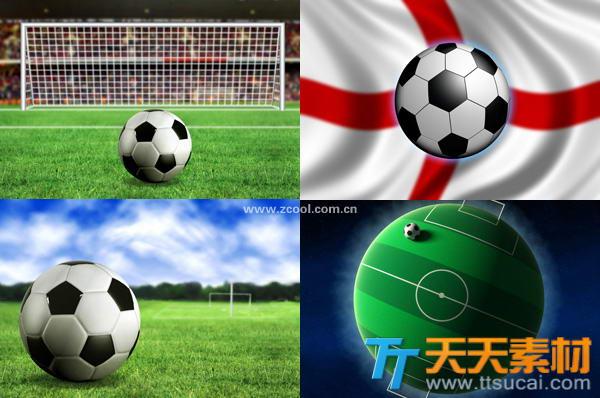 世界杯足球场足球高清图片素材
