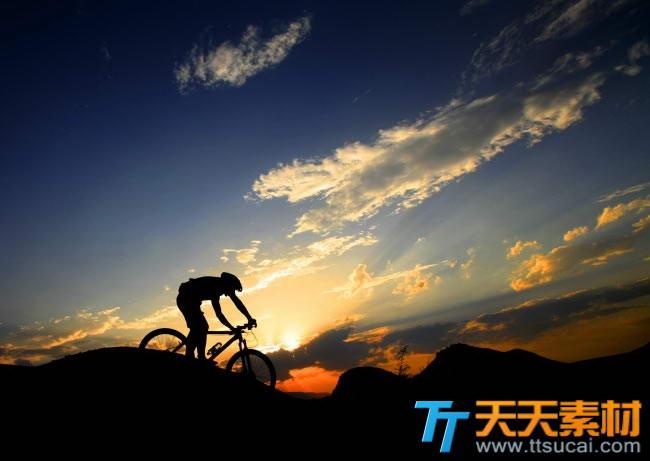 单车骑行高清摄影图片素材