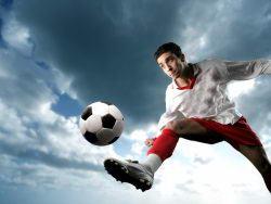 激情足球运动高清图片