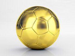 金色足球高清图片素材