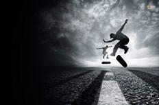 非主流滑板运动高清壁纸图片下载