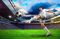 世界杯射门动作高清图片素材