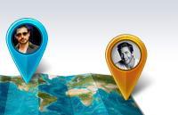 精致世界地图信息图