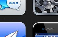 高清质感iOS图标