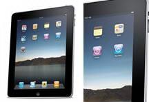 黑色苹果ipad2平板电脑PSD分层素材