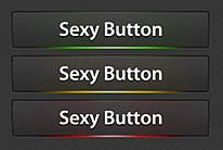 精美质感发光网页按钮psd素材