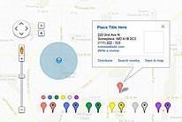 谷歌地图UI设计素材下载