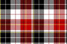 红色格子布料背景矢量素材