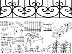 欧式镂空雕花图案设计素材下载