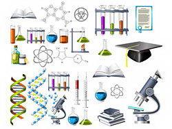 生物化学主题图标矢量素材