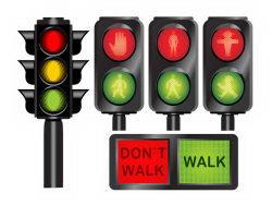 红绿灯图标矢量素材