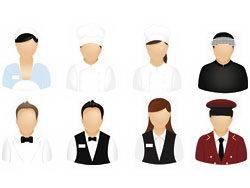 各行业职业人士头像矢量图标素材